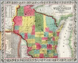 Map Of Milwaukee Wisconsin by Wisconsin David Rumsey Historical Map Collection