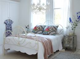 bedroom enchanting bedroom chandeliers and wrought iron beds plus