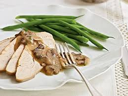 turkey and mushroom gravy recipe maple brined turkey breast with mushroom pan gravy recipe myrecipes