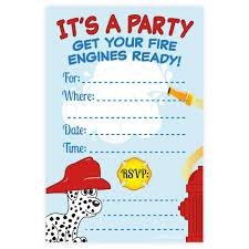 fire truck invitations boy birthday fill in invitations m u0026h invites madison and hill
