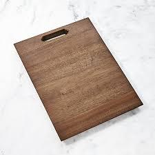 acacia wood board crate and barrel