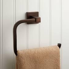 Drape Towel Ultra Towel Ring Bathroom