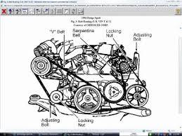 1994 dodge spirit drive belt diagram other category problem 1994