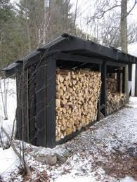 Outdoor Firewood Shed Plans by How To Build A Firewood Storage Shed Camp Pinterest Firewood
