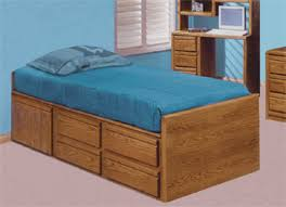 6 77 1625 youth captain u0027s bed waterbed furniture