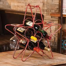 star wine rack