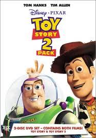 amazon toy story u0026 toy story 2 2 pack tom hanks tim allen
