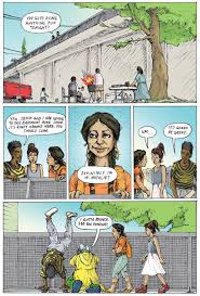 a teenage throwdown against evictions the graphic novel version