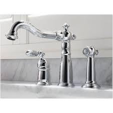 delta faucet 155 dst victorian polished chrome one handle with