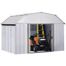 Red Shed Home Decor by Arrow Dakota 10 Ft X 8 Ft Steel Shed Dk108 The Home Depot