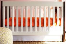 Portable Mini Crib Bedding by Orange Crib Bed Skirt Creative Ideas Of Baby Cribs