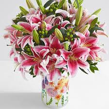 bouquet of lilies lilies flower arrangements from 29 99 proflowers