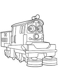 calley from chuggington coloring page download u0026 print online