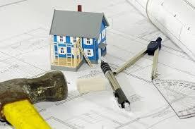 home improvement design with well home improvement logo design