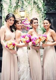 bcbg bridesmaid dresses wedluxe bridesmaids in blush bcbg max azria dresses and bright