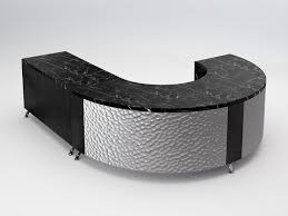 Black Reception Desk Sacramento Modern Reception Desk Executive Style With High Impact