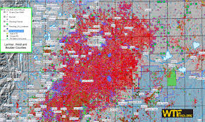 Usa Fracking Map by Wtfrack Org April 2012