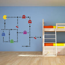 wall decal design retro classic game character pacman wall decals wall decal design bunk bed personaized personalized baseball soccer pacman decals gymnastics beam processing font