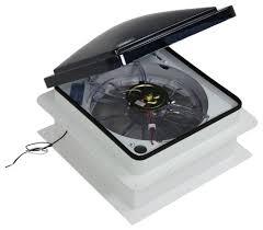 fan tastic vent roof vent w 12v fan manual lift 14 1 4