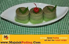membuat puding kacang hijau resep puding kacang hijau resep puding