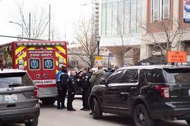 taken to hospital after incident on city parking garage