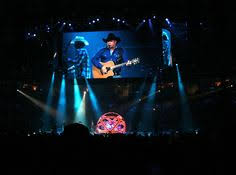garth brooks gives me a lady funny country music concert fan