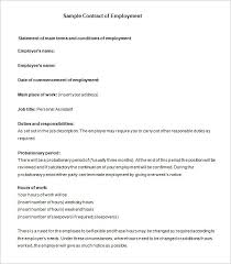 job contract template driver job contract template free download
