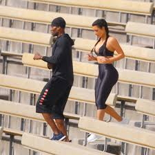 Kim Kardashian Hair Growth Pills Kim Kardashian Sweats Her Way Through Intense Workout In Skin
