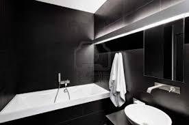 black bathroom tjihome