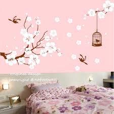 wall ideas cherry blossoms tree stencil wall stencil large tree