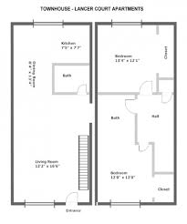 prefab in law cottages master bedroom with bathroom and walk in closet floor plans