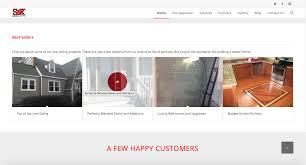 home remodeling website design build smart s u0026k remodeling website design metro nova creative