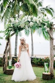 wedding arch leaves 50 green tropical leaves wedding ideas hi miss puff