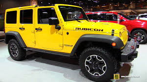yellow jeep wrangler unlimited 2015 jeep wrangler unlimited rubicon hard rock exterior interior