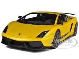 lamborghini gallardo superleggera yellow lamborghini gallardo lp570 4 superleggera metallic yellow 1 18