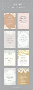 wedding invitations lace 8 lovely lace wedding invitations ideas for weddings