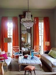 High Ceiling Curtains by Love This Room High Ceilings With Those Wonderful Orange Taffeta