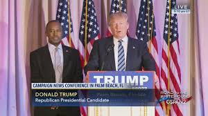 donald trump news conference west palm beach florida mar 11 2016