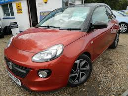 vauxhall adam used vauxhall adam hatchback 1 0 i ecoflex jam 3dr start stop in