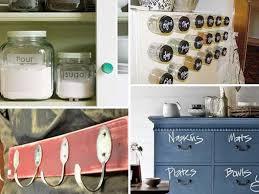 kitchen drawer organization ideas walnut wood bordeaux glass panel door storage ideas for small