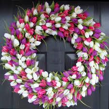 wreaths glamorous spring wreath extraordinary spring wreaths