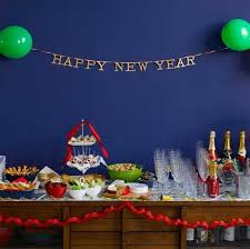 New Years Table Decorations Ideas by New Year Eve Party Decoration Quecasita