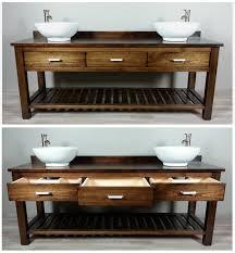 Essex 60 Vanity Custom Built Solid Wood Double U0027essex U0027 Bathroom Vanity From