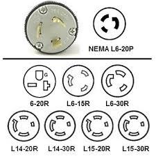 nema l6 20p plug adapters l6 20 to 6 20r l6 15r l6 30r pigtail