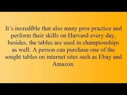 Harvard Foosball Table Parts by Harvard Foosball Table Review Youtube
