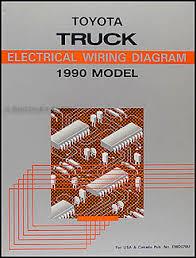1990 toyota pickup truck wiring diagram manual original