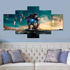 avengers bedroom decorating ideas pcsset framed hd printed age of