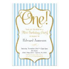 elegant first birthday invitations u0026 announcements zazzle