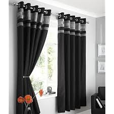Black And Gray Curtains Grey And Black Curtains Co Uk