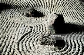 study of rocks in a zen garden japan stock photo getty images
